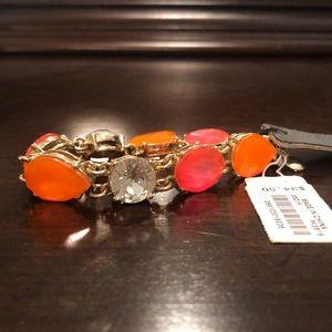 Orange and pink bracelet
